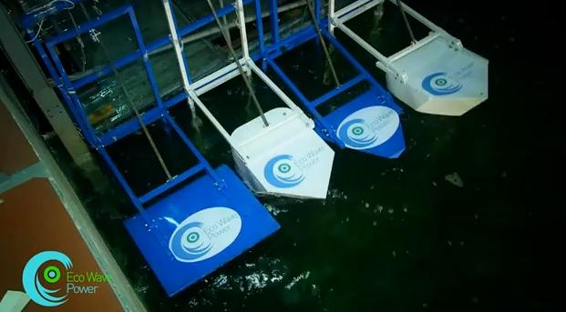 eco wave israel sea power, renewable energy