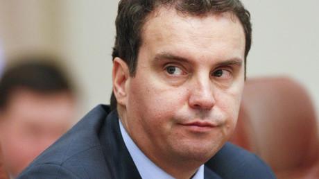 Ukraine's Economy Minister Aivaras Abromavicius  Valentyn Ogirenko